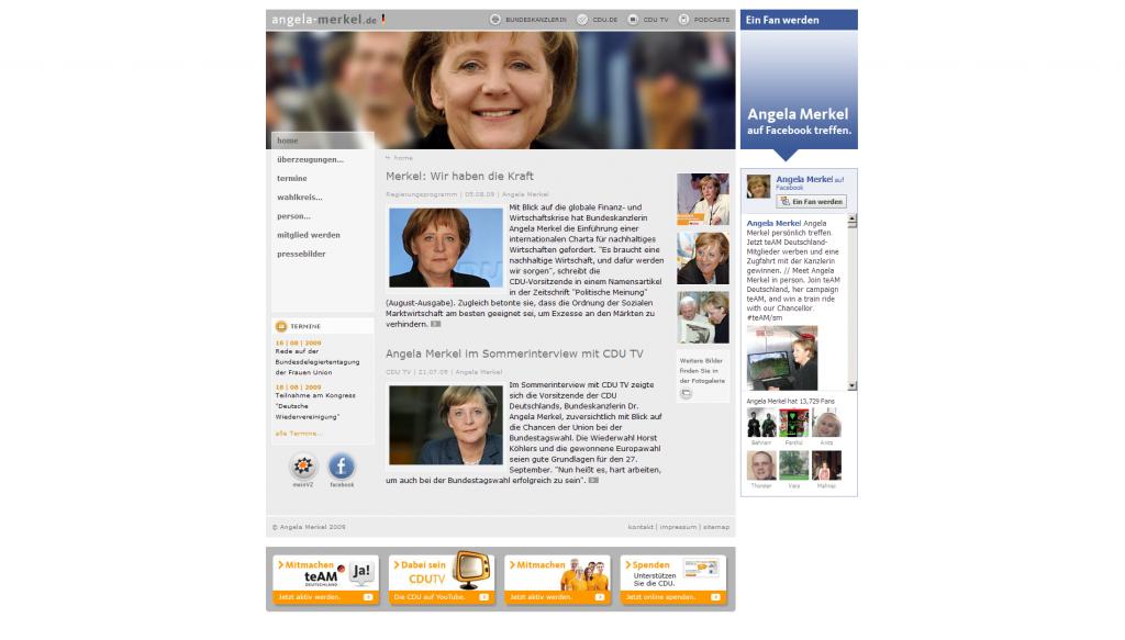 Angela Merkel - Homepage_1249821011275