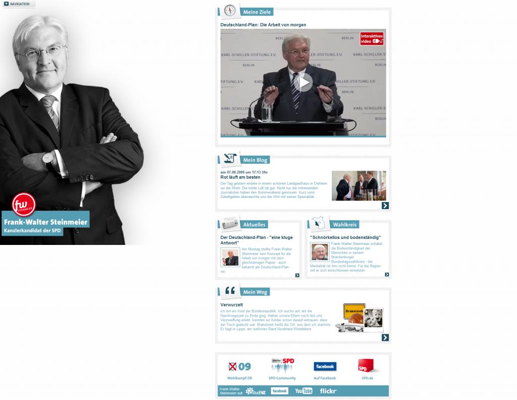 Frank-Walter Steinmeier - Kanzlerkandidat der SPD_1249820978162