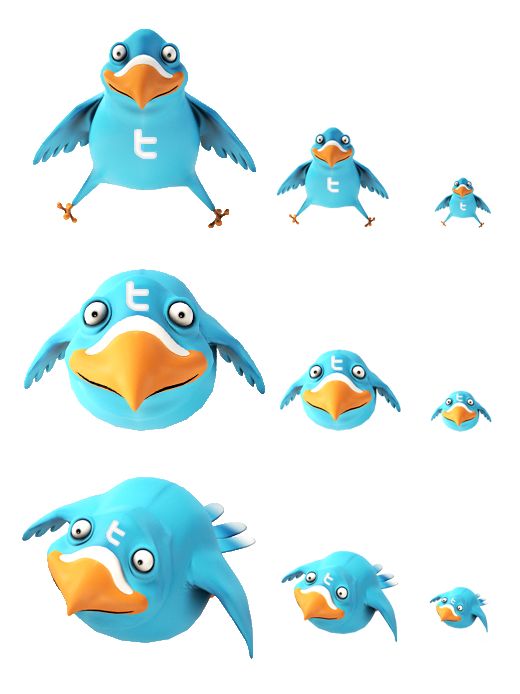 Twitter-Icon-Set